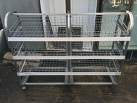 Large Stainless Steel Display Unit