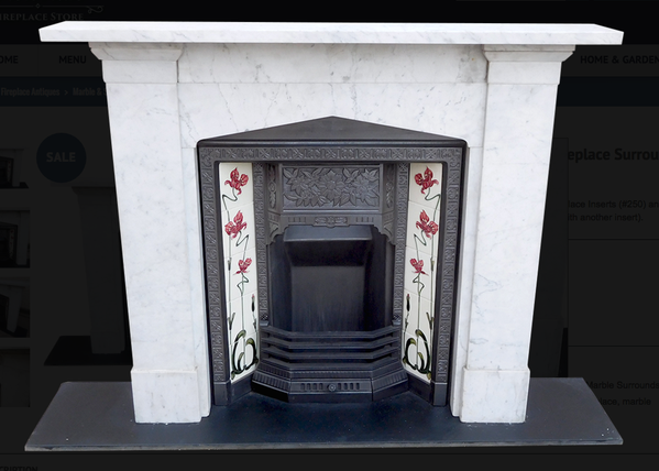 Secondhand Vintage And Reclaimed Fireplaces And Fire Surrounds Gothic Arched Marble
