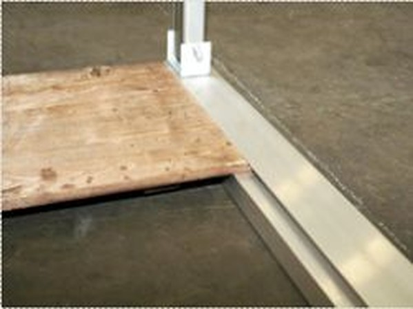 Buy Used Tectonics Wood Floor For Oriental 6x6