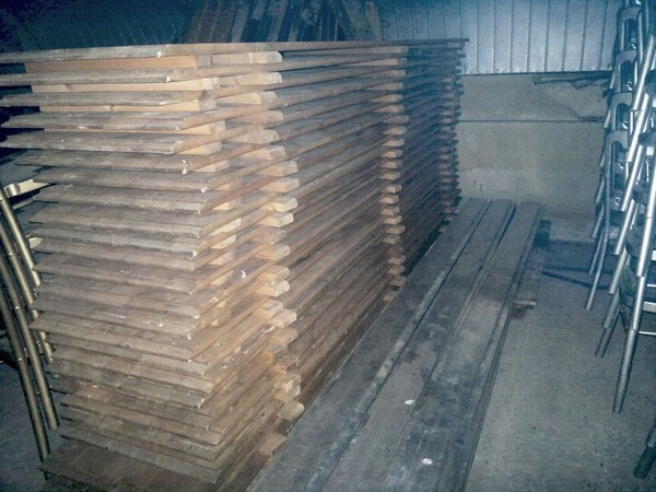 Tectonics Wood Floor For Oriental 6x6 for sale