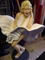 Marilyn Monroe Resin Figure