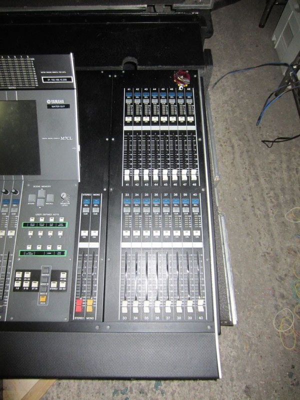 Yamaha M7CL Sound Desk with PW800w PSU