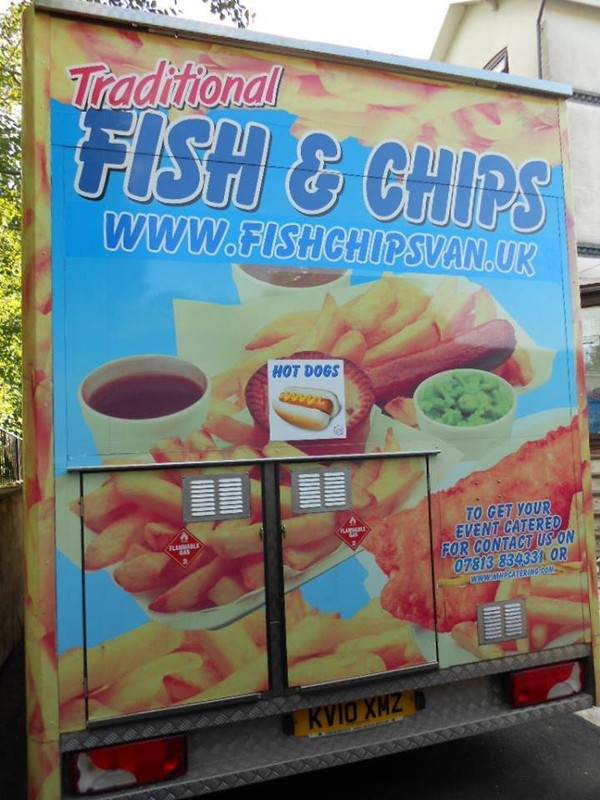 Fish & Chips Van / Unit & Business For Sale