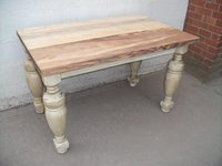 "Qty ""New"" Shabby Chic Dining Tables (CODE T 671A REF)"