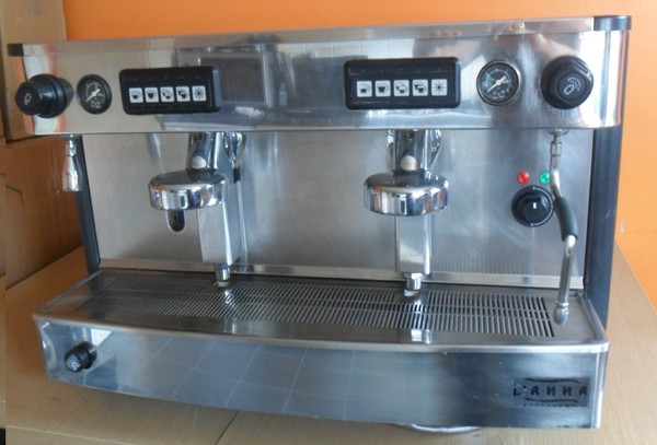 Iberital L'anna 2 group espresso/coffee machine inc grinder