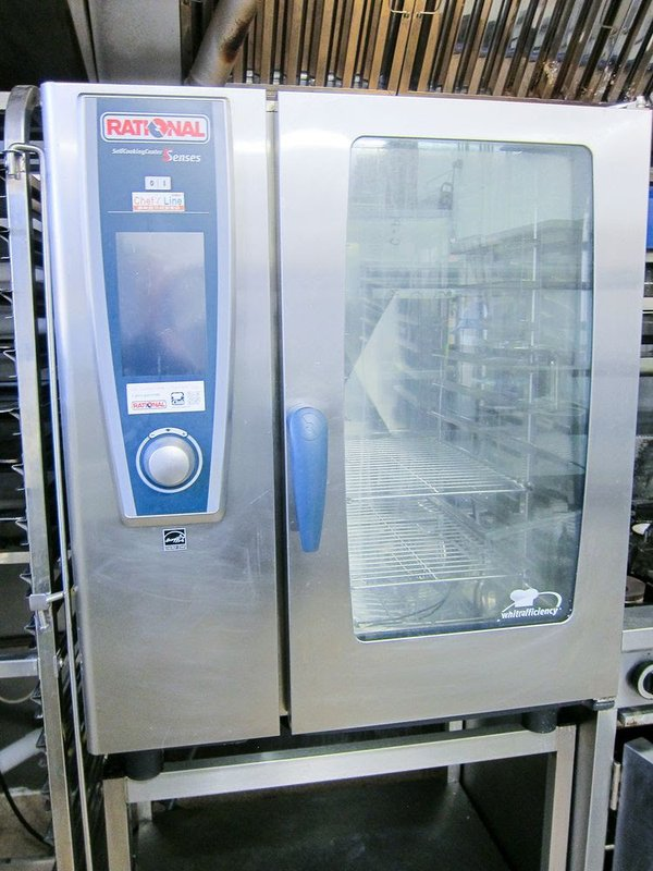 Rational Model 101 - 5 Senses Self Cooking Centre - Gas