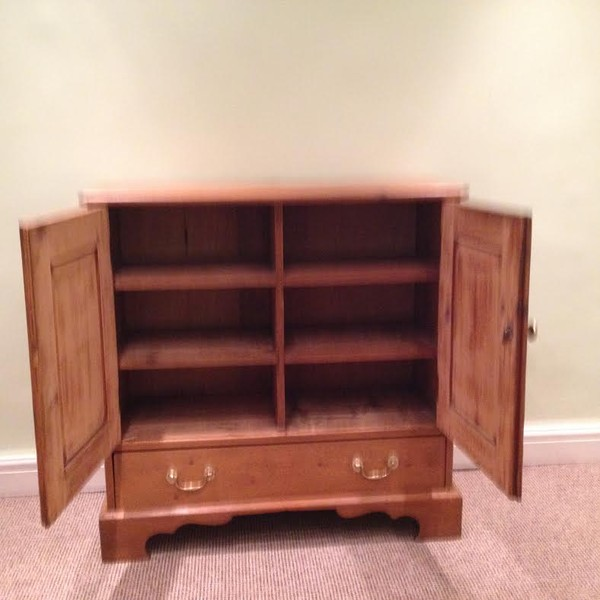 Cupboard base with draw