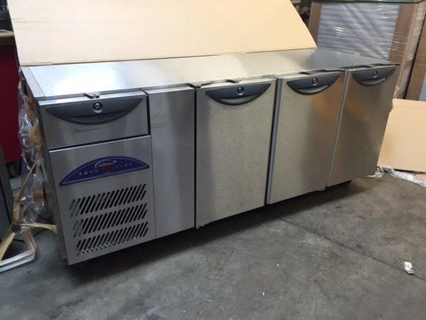 3 door undercounter refrigerator 3