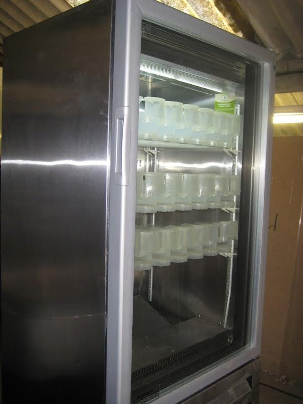 Drinks fridge