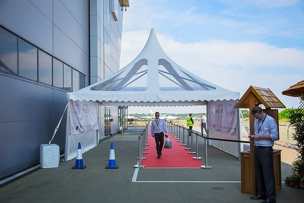 6m Pagoda Semi Panoramic Roof by Custom Covers