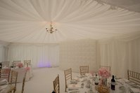 White pleated lining for sale