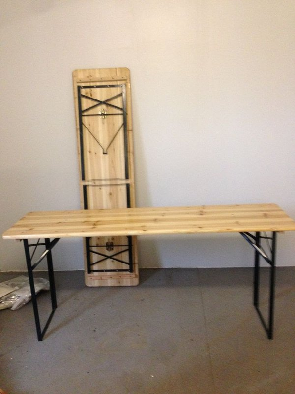 second hand trestle tables 2