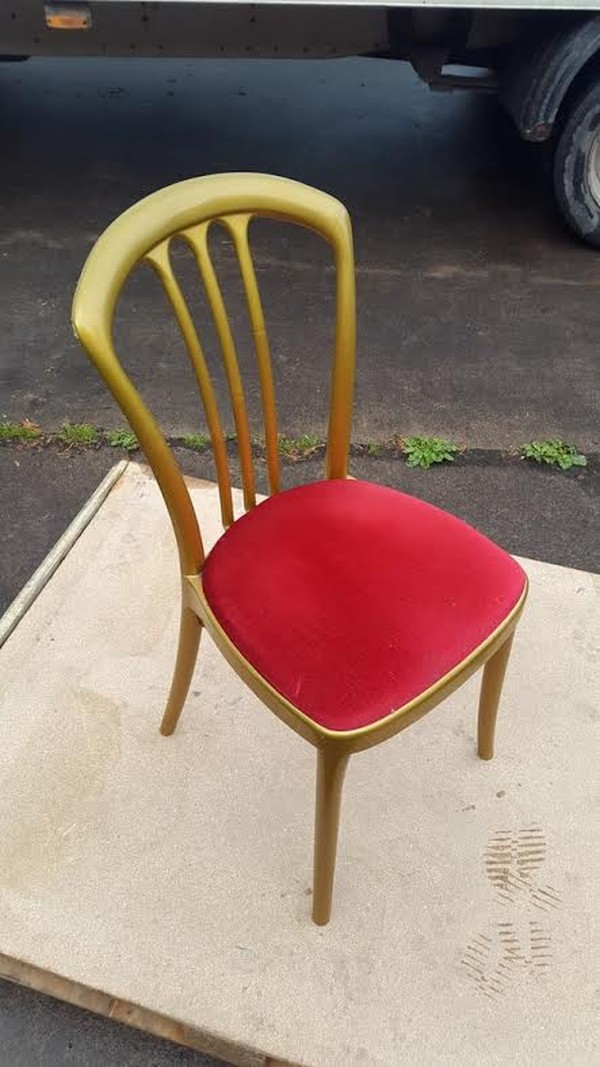 Used Resin Banqueting chairs