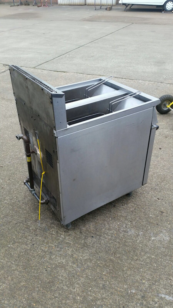 Used Natural Gas Deep Fryer