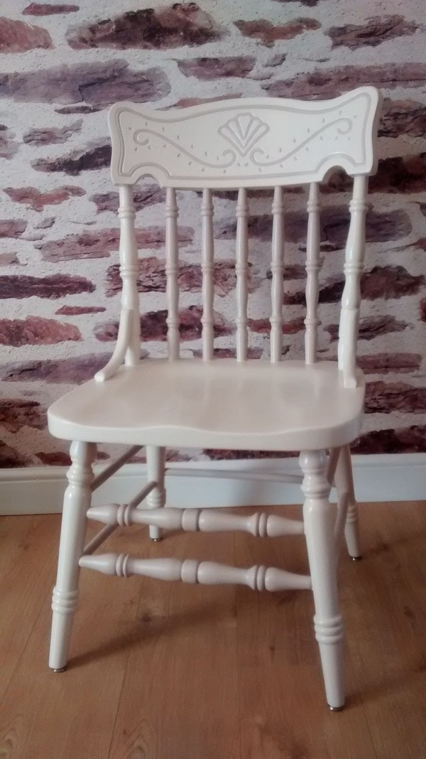6 No. Refurbished Beech Colonial Chairs - Nottingham