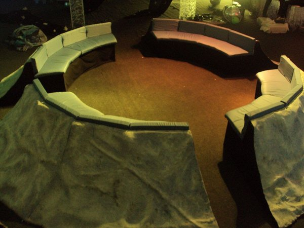 Crater Seating Prop Suitable for Space Theme