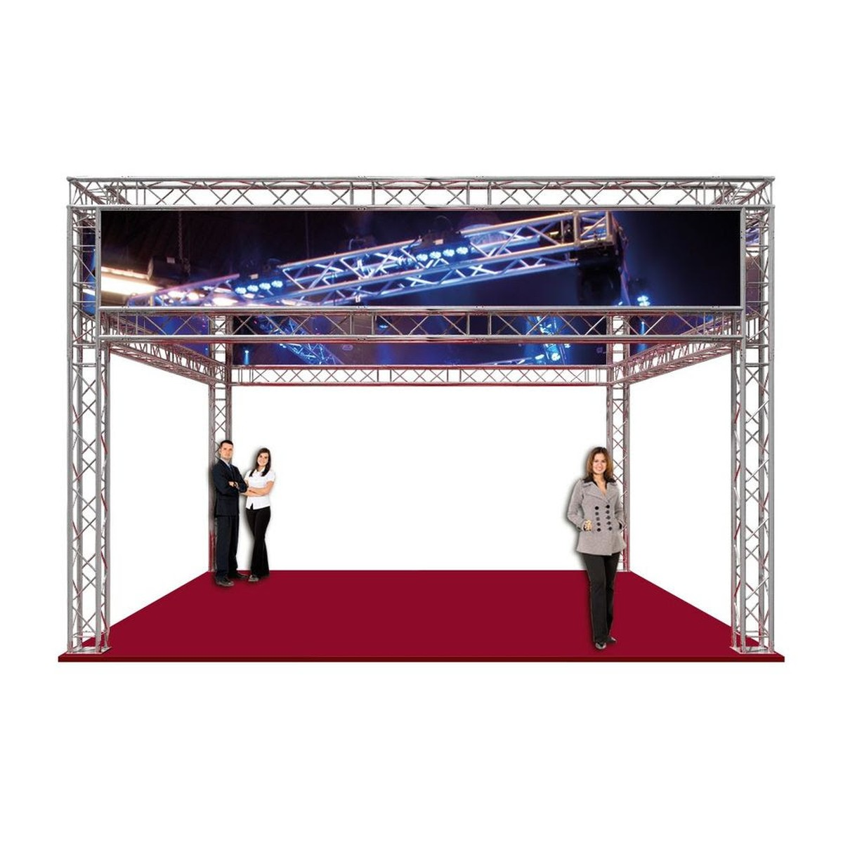 Exhibition Stand Truss : Curlew secondhand marquees stage concepts show