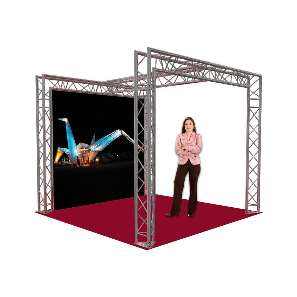 Exhibition Stand Used : Curlew secondhand marquees stage concepts show