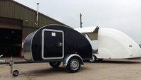 Teardrop Caravan Camper Trailer Retro Vw Glamping Mini Van Festival Tent Surf