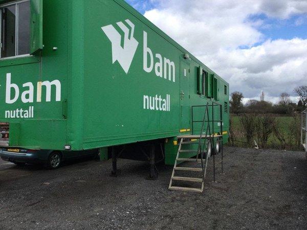 Site welfare trailer