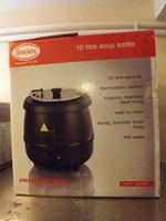 Swan soup kettle