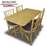 4x Lightwood Chairs and Table Set x4 (Ref: RHC1532) - Warrington, Cheshire