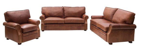 Italian Leather Seating Sets