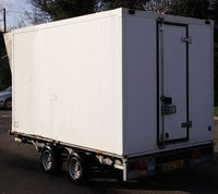 Large Refrigerated Chiller or Freezer Trailer