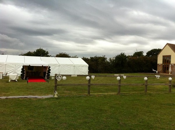 marquees and wedding london