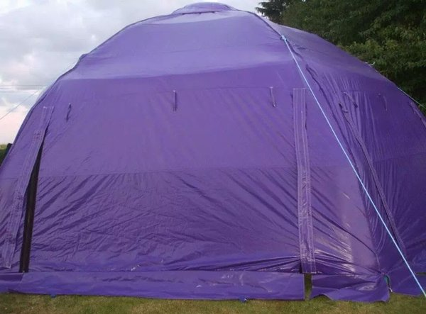 Purple Inflatable Dome