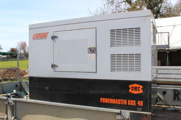 Powermaster Generator stolen