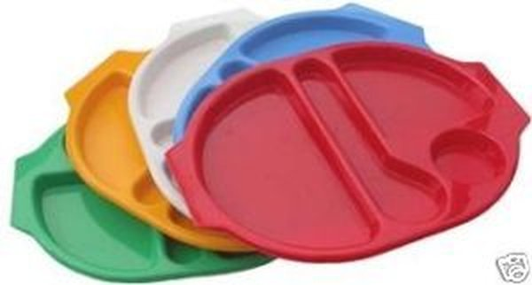 polycarbonate meal trays