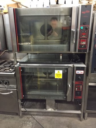 Double Stack Euro Four Bakery Oven