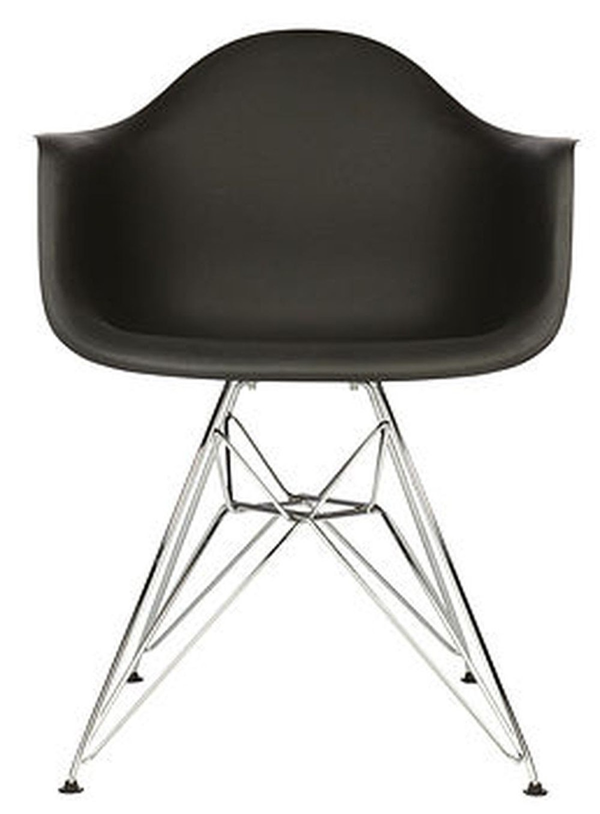 Black Eames Eiffel Chairs For Sale