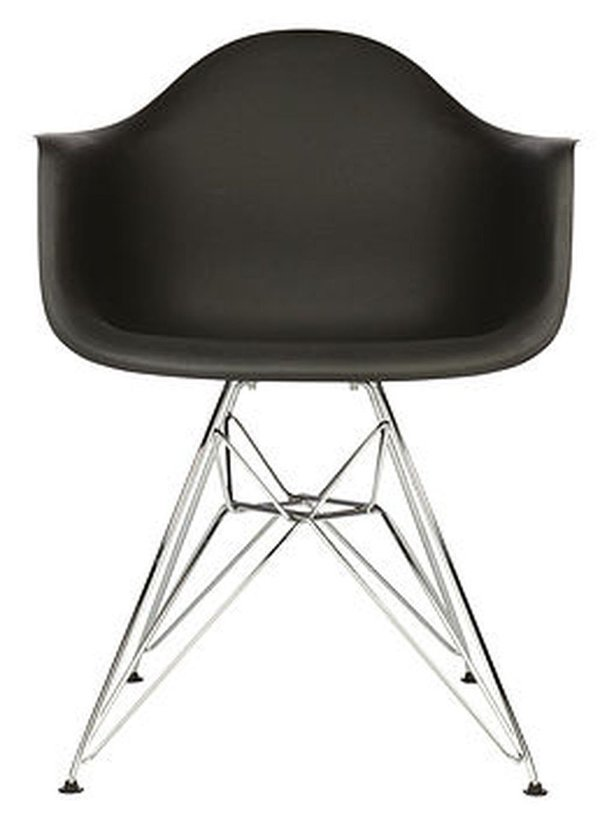 Black Eames Eiffel Chairs for Sale - Used Once!