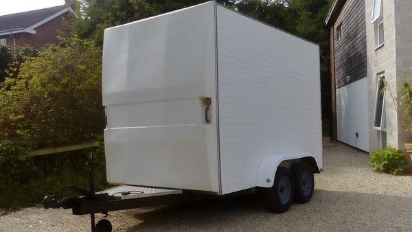 Lynton 10x6 Twin Axle Box Trailer