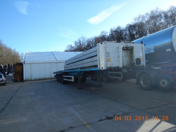 Schmitz tri axle trailer for sale