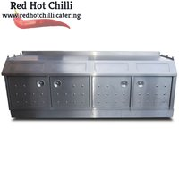 Four Bin Stainless Unit. (Ref: RHC1543)