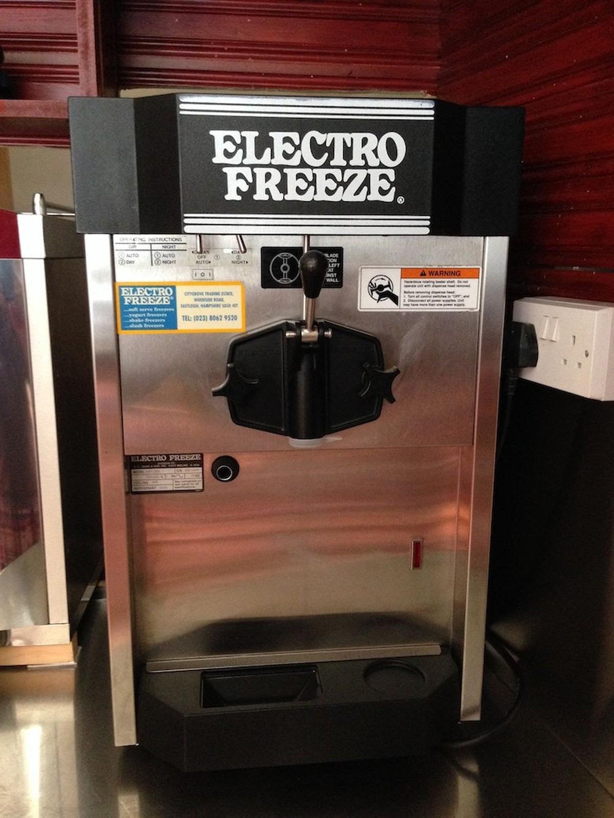 electro freeze soft serve machine
