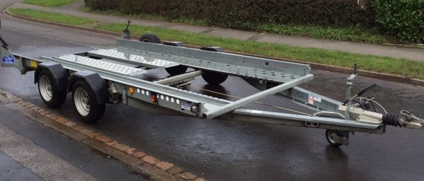 Ifor Williams Twin Axle Car Transporter Trailer