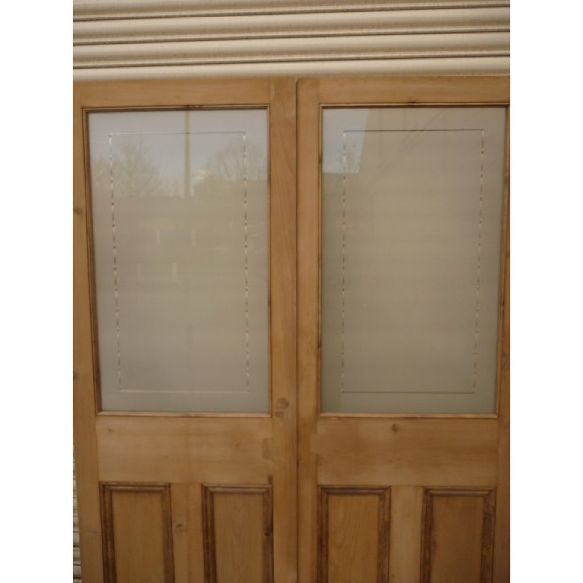 Secondhand vintage and reclaimed doors and windows for Double glass doors