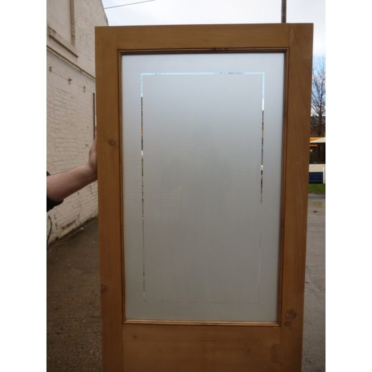 Secondhand vintage and reclaimed doors and windows for Etched glass doors