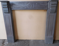 Unrestored Grooved Slate Surround
