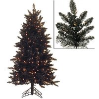 Black LED Xmas Trees