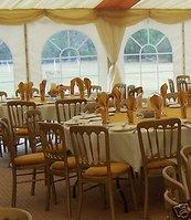 70 Gilt Banquet Chairs