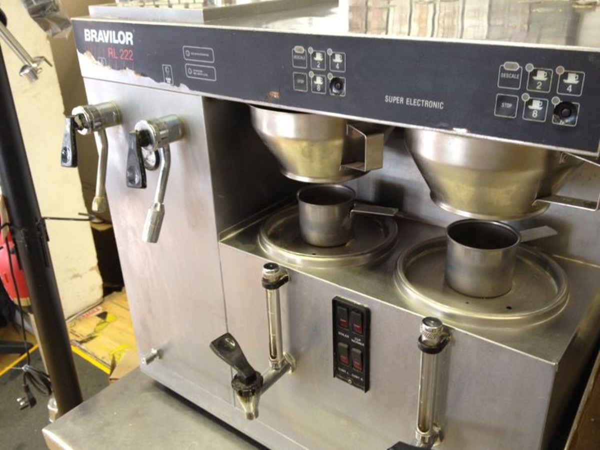 used coffe machine