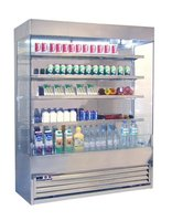 Frost Tech Stainless Steel Multi-Deck Dairy Display