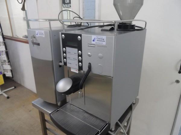 Franke Evolution Bean to Cup Coffee Machine