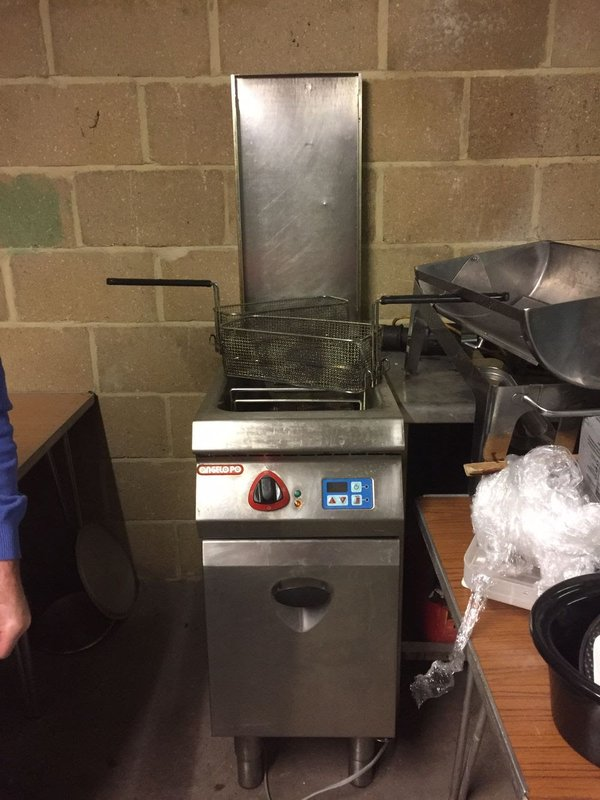 Angelo PO Double Chip Fryer