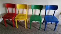 30x Mixed Colour Chairs